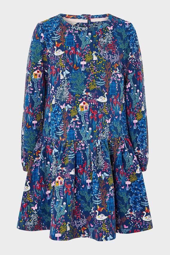 Детский синий набор одежды BABY SASKIA DRESS