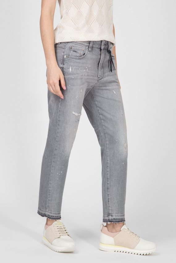 Женские серые джинсы 3301 rp Mid Boyfriend 7\8 Wmn