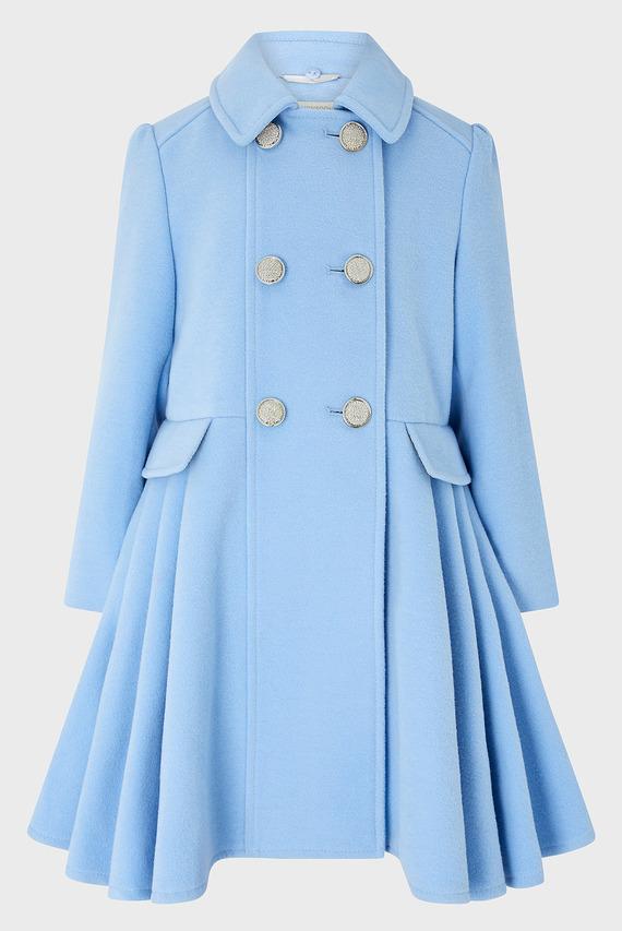 Детское голубое пальто Aurora Coat