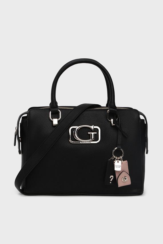Женская черная сумка на плечо ANNARITA GIRLFRIEND