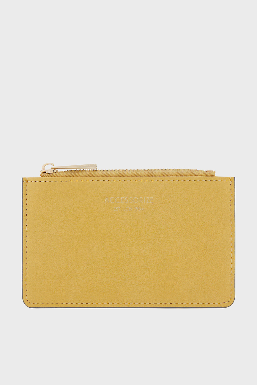 Женский желтый кошелек SHOREDITCH CARD HOLD