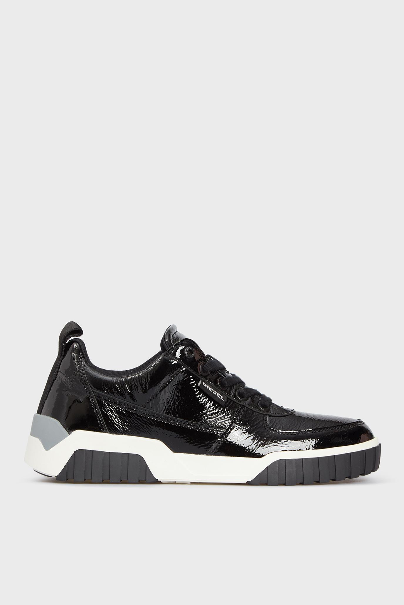 Жіночі чорні кросівки LE RUA 1