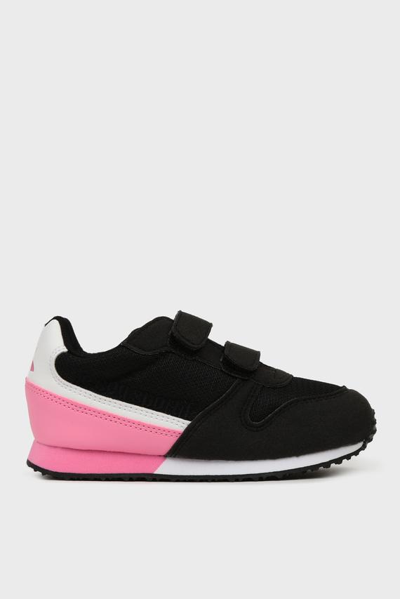 Детские черные кроссовки ALPHA II INF SPORT
