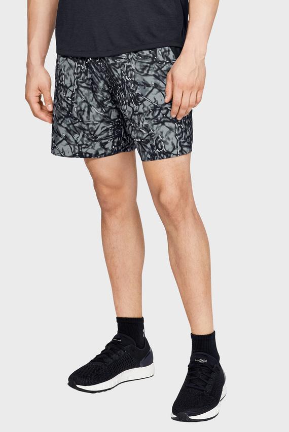 Мужские шорты с принтом UA LAUNCH SW 7'' PRINTED SHORT-BLK