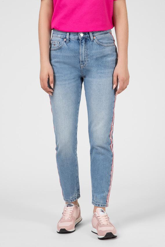 Женские голубые джинсы HIGH RISE SLIM IZZY