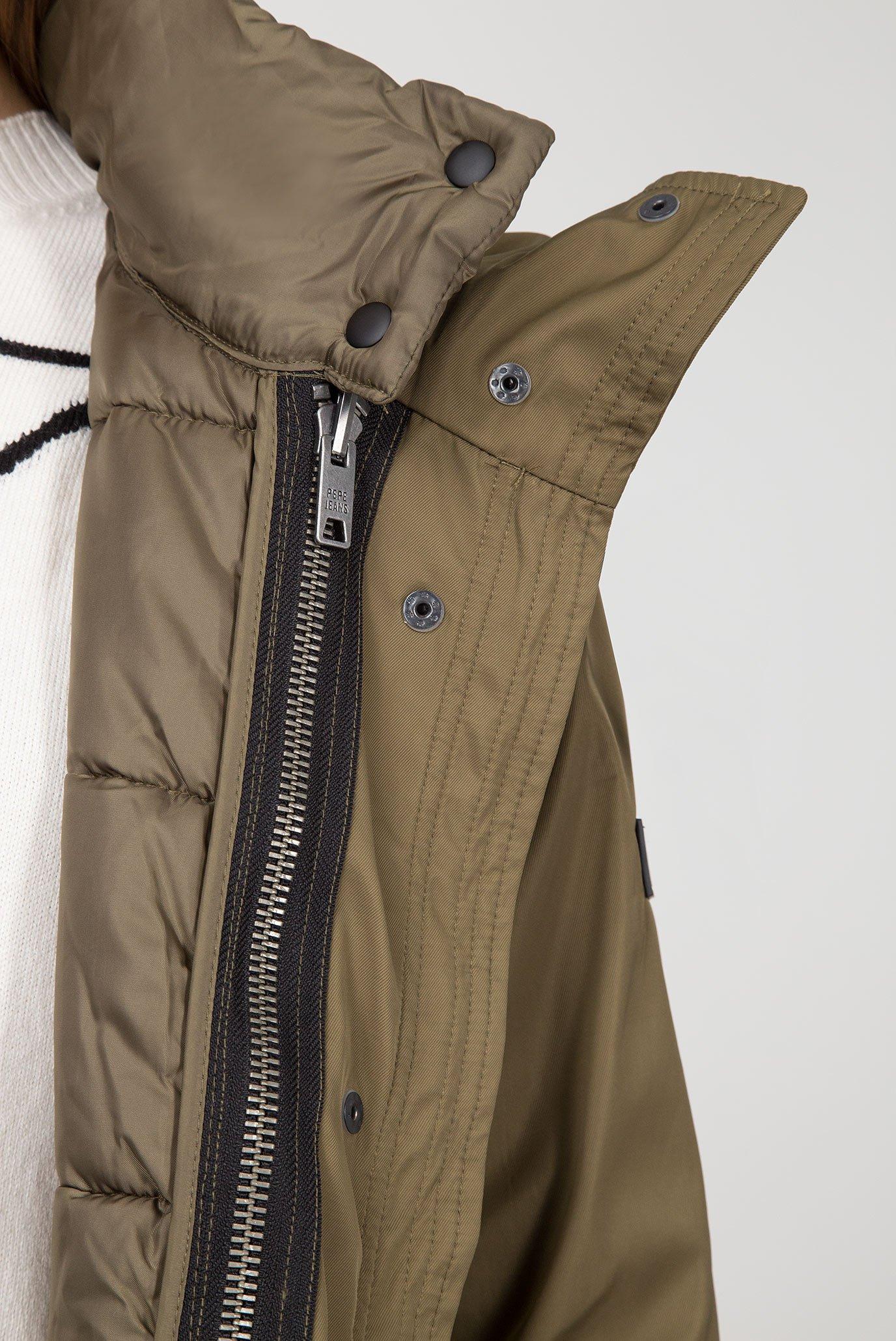 Купить Женская зеленая парка DAKOTA 2 в 1 Pepe Jeans Pepe Jeans PL401526 – Киев, Украина. Цены в интернет магазине MD Fashion