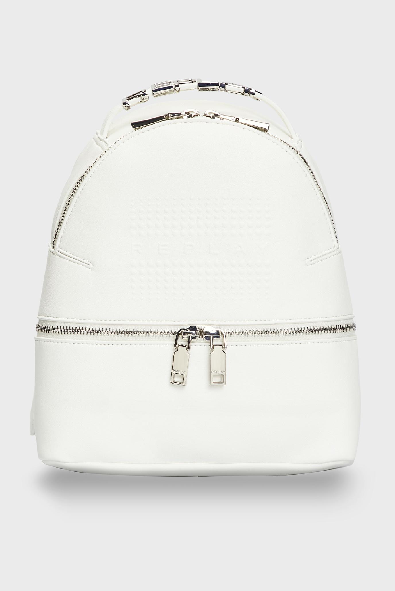 Женский белый рюкзак 1