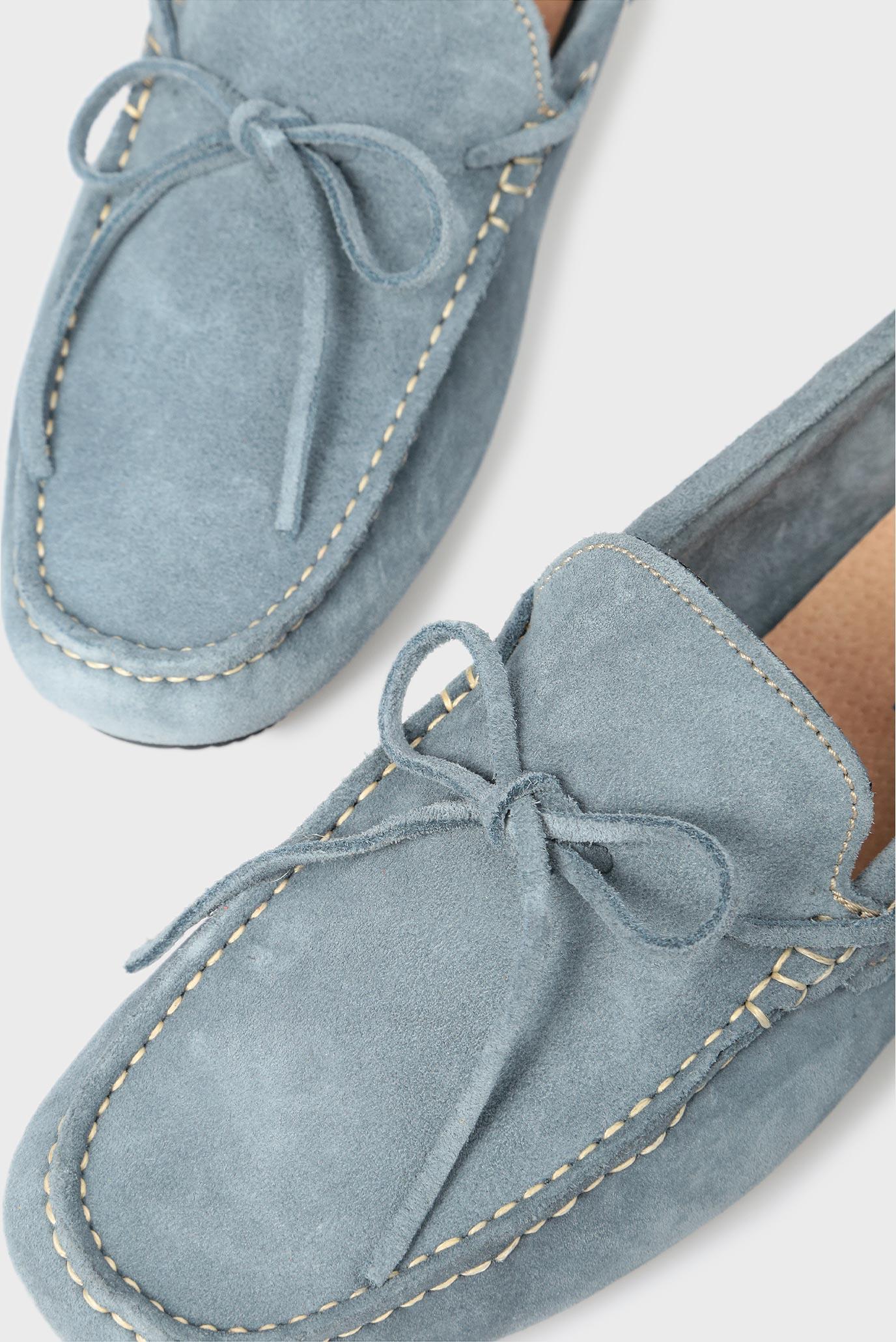 Купить Мужские голубые замшевые мокасины Preppy Preppy 6.34.32300.419 – Киев, Украина. Цены в интернет магазине MD Fashion