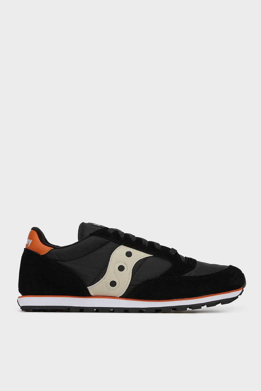 Мужские черные замшевые кроссовки JAZZ LOW PRO