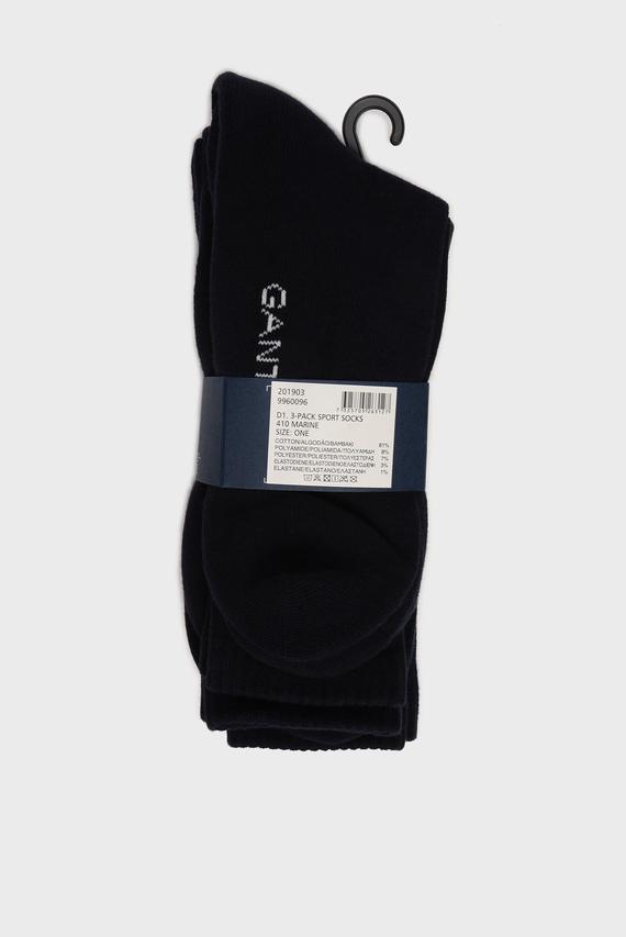 Мужские темно-синие носки SPORT (3 пары)