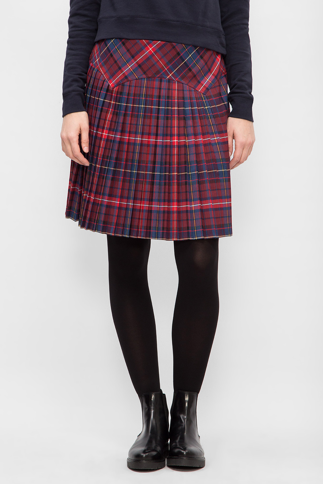 e4c9bea5457 Купить Женская юбка в клетку Tommy Hilfiger Tommy Hilfiger WW0WW19866 –  Киев