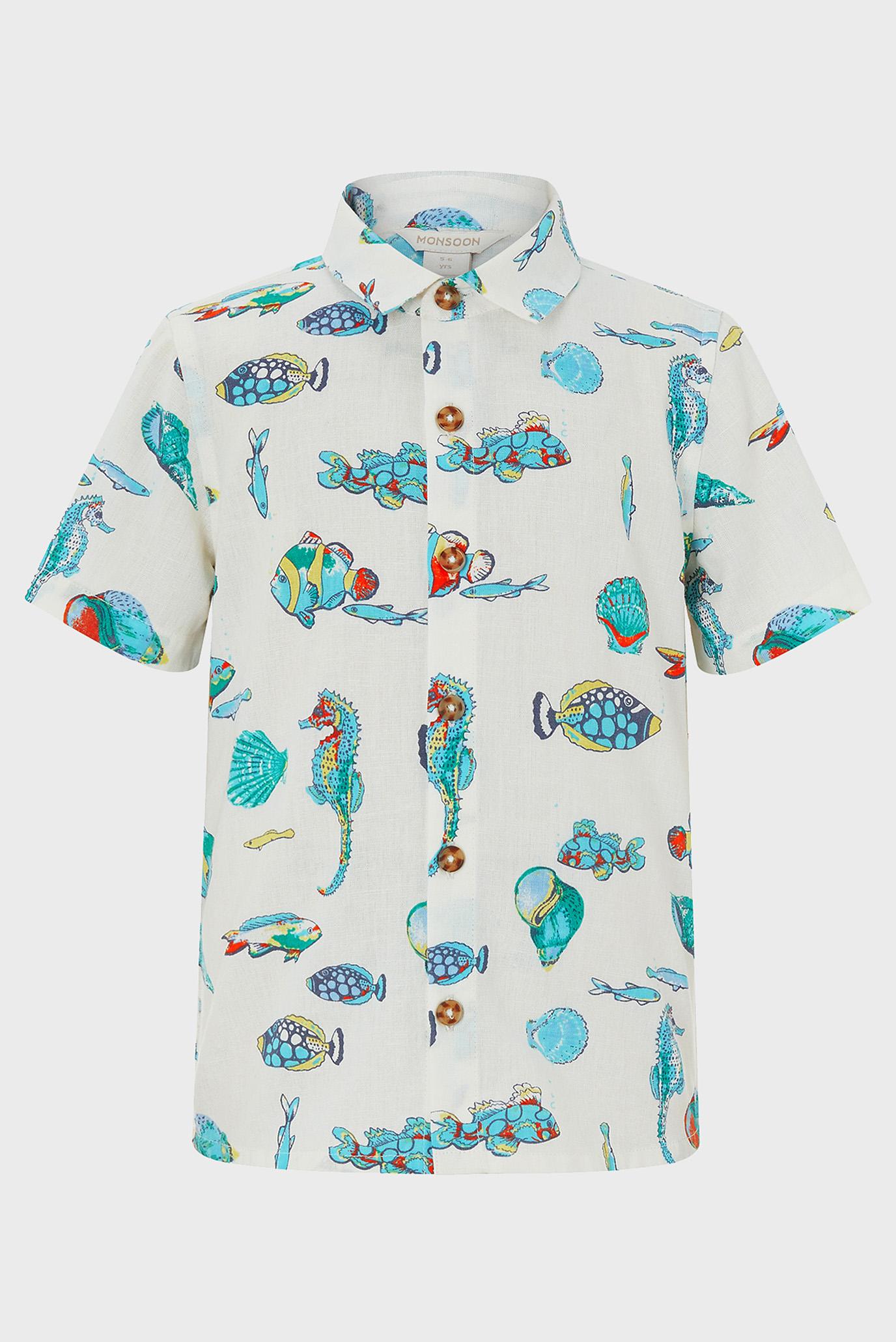 Купить Детская бежевая рубашка Kaspian Fish Monsoon Children Monsoon Children 616581 – Киев, Украина. Цены в интернет магазине MD Fashion