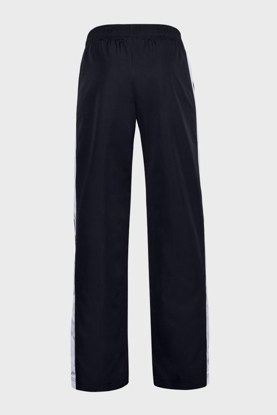 Детские черные спортивные брюки UA Woven