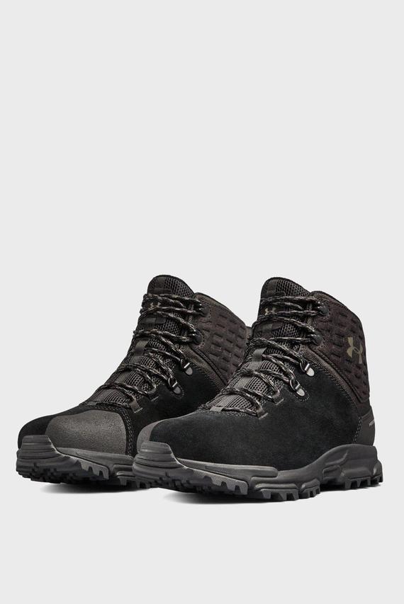 Мужские черные ботинки UA Brower Mid WP