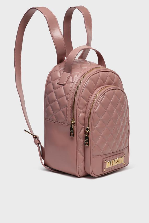 Женский пудровый рюкзак