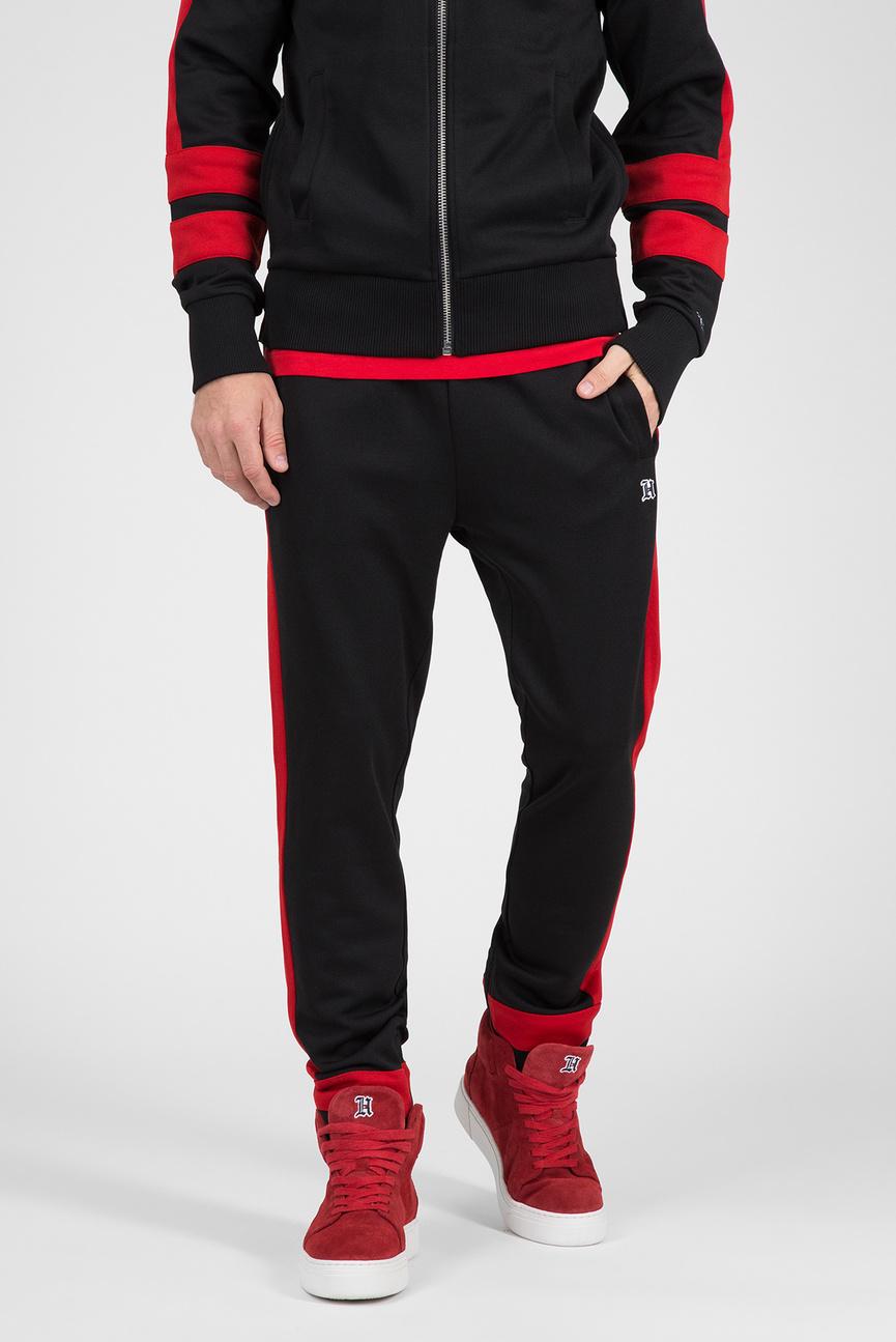 Мужские черные спортивные брюки LEWIS HAMILTON