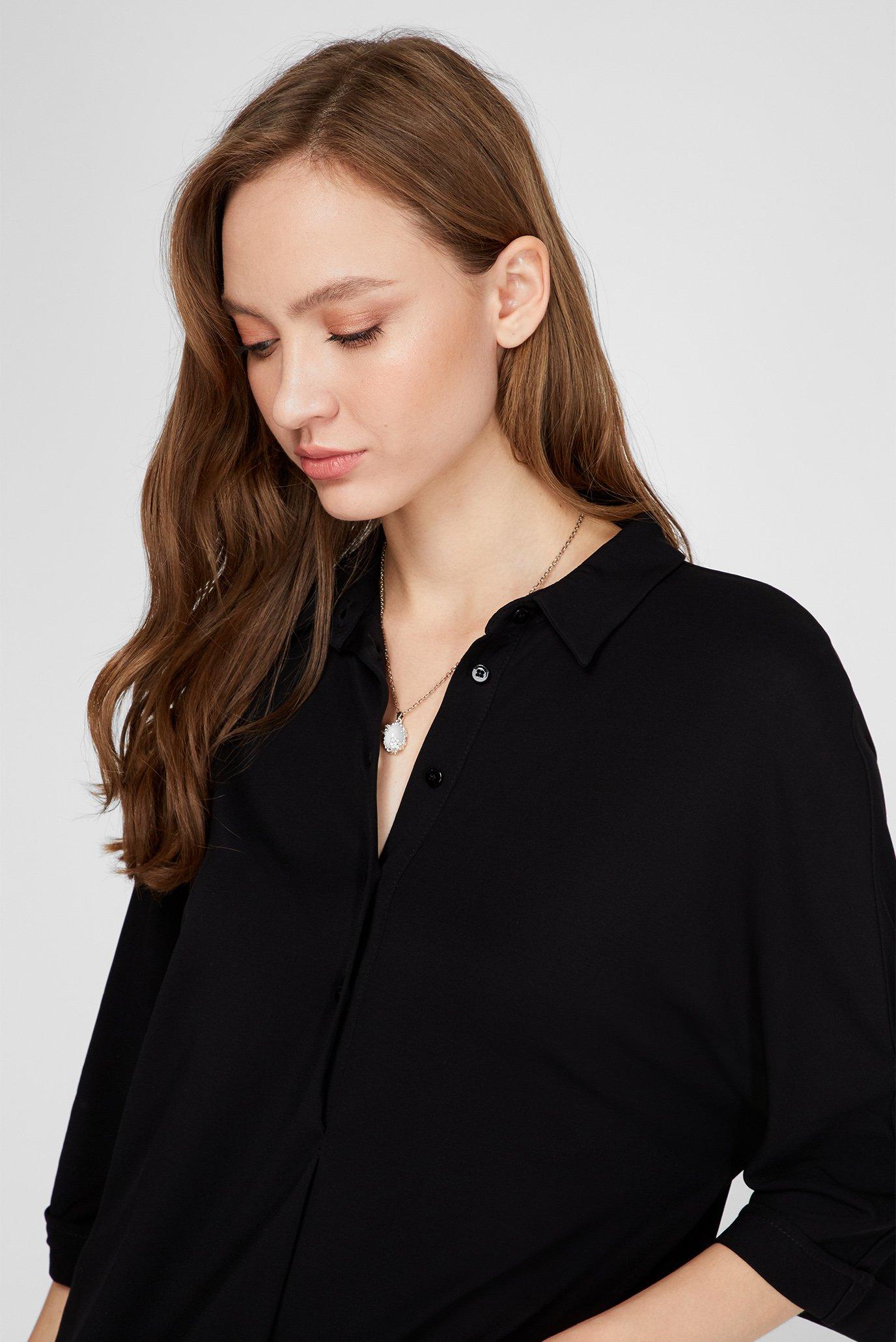 Женская черная блуза Trussardi Jeans
