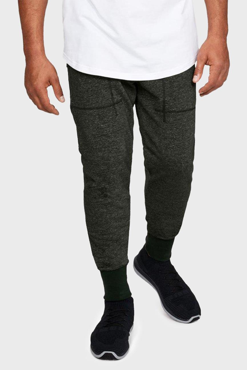 Мужские зеленые спортивные брюки SPECKLE TERRY