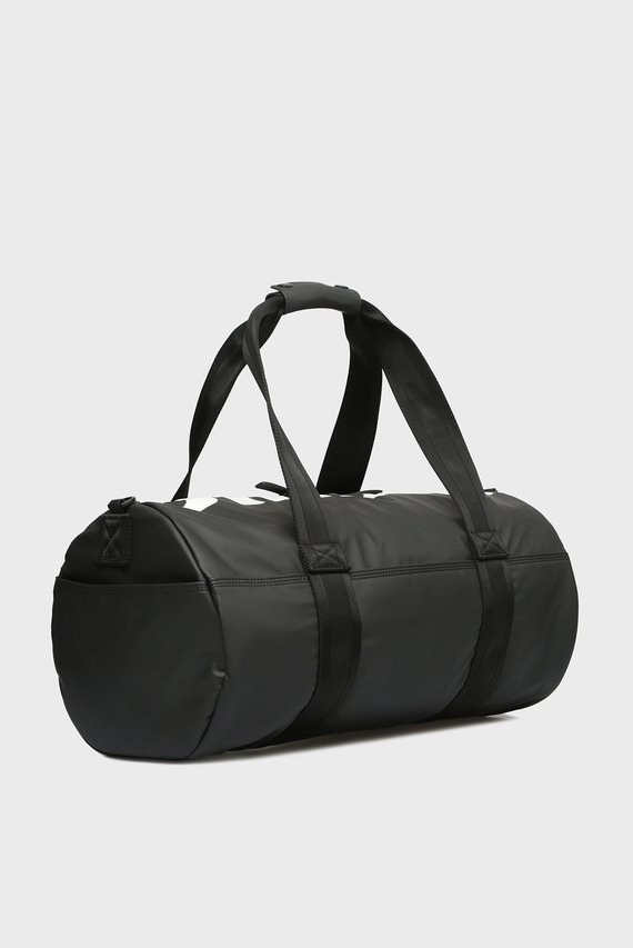 Мужская черная спортивная сумка BOLDMESSAGE