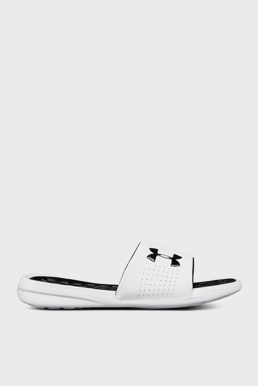 Мужские белые сандалии UA Playmaker Fix