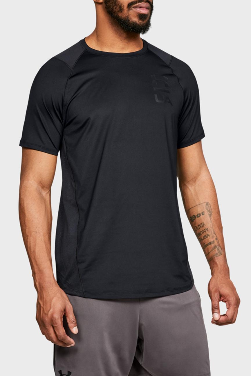 Мужская черная футболка MK1 SS Logo Graphic