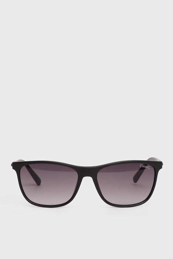 Черные солнцезащитные черные очки Jaida