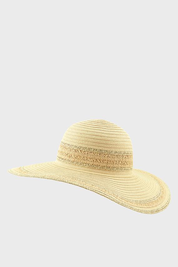 Женская бежевая шляпа SORENTO FLOPPY