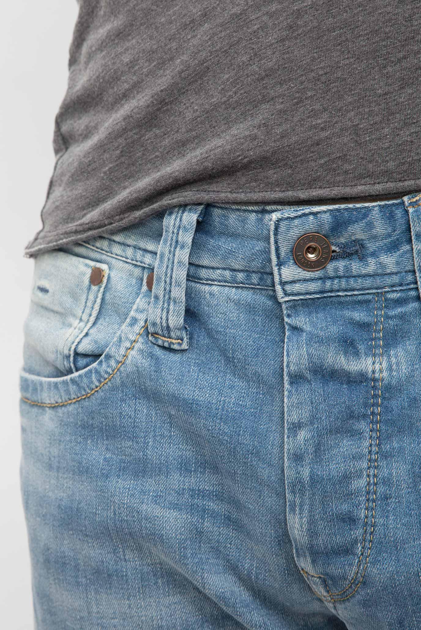 Купить Мужские голубые джинсы CASH ST-CASH Pepe Jeans Pepe Jeans PM200124MA52 – Киев, Украина. Цены в интернет магазине MD Fashion