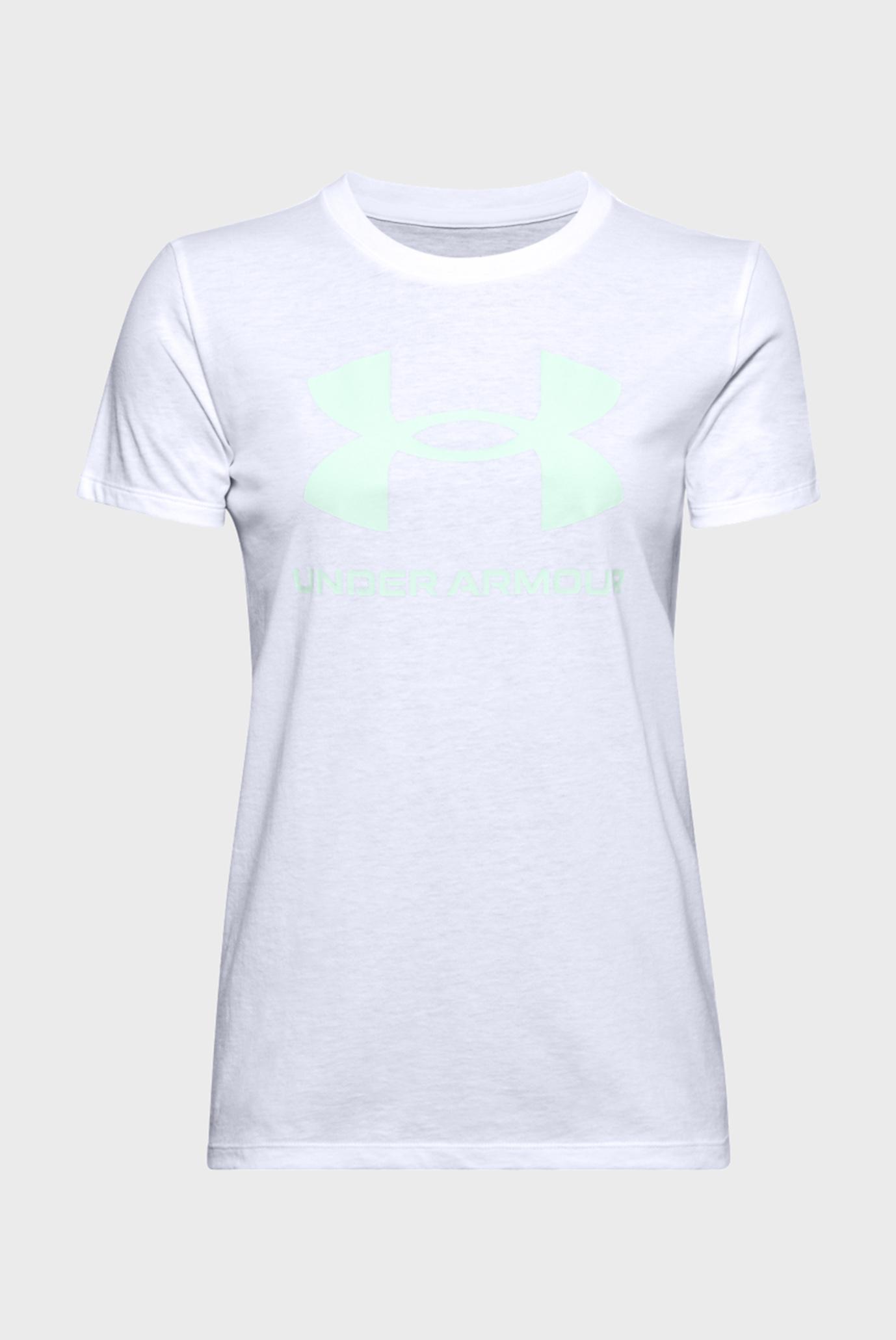 Женская белая футболка Live Sportstyle Graphic SSC 1