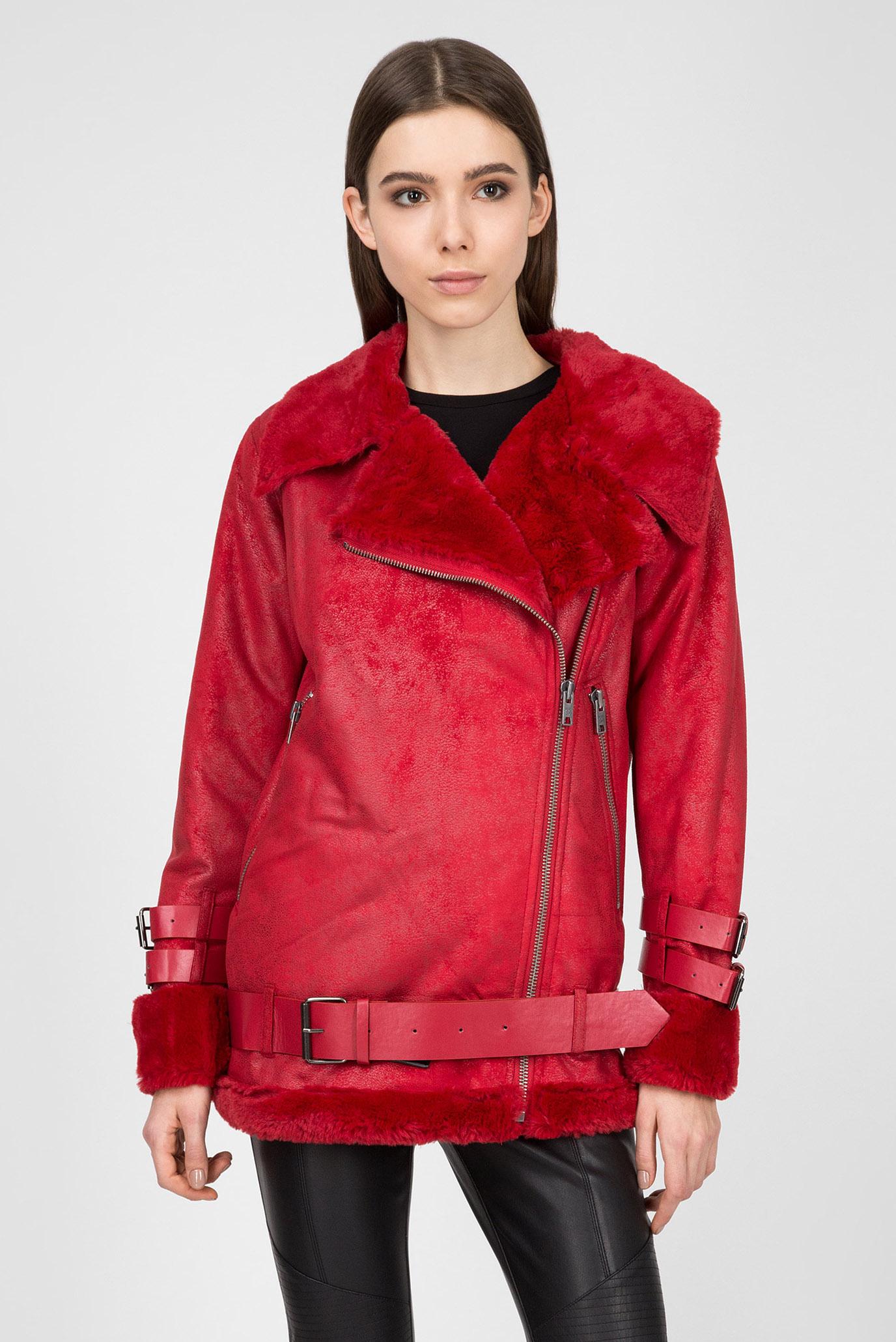 Купить Женская красная куртка GEORGIA Pepe Jeans Pepe Jeans PL401533 – Киев, Украина. Цены в интернет магазине MD Fashion