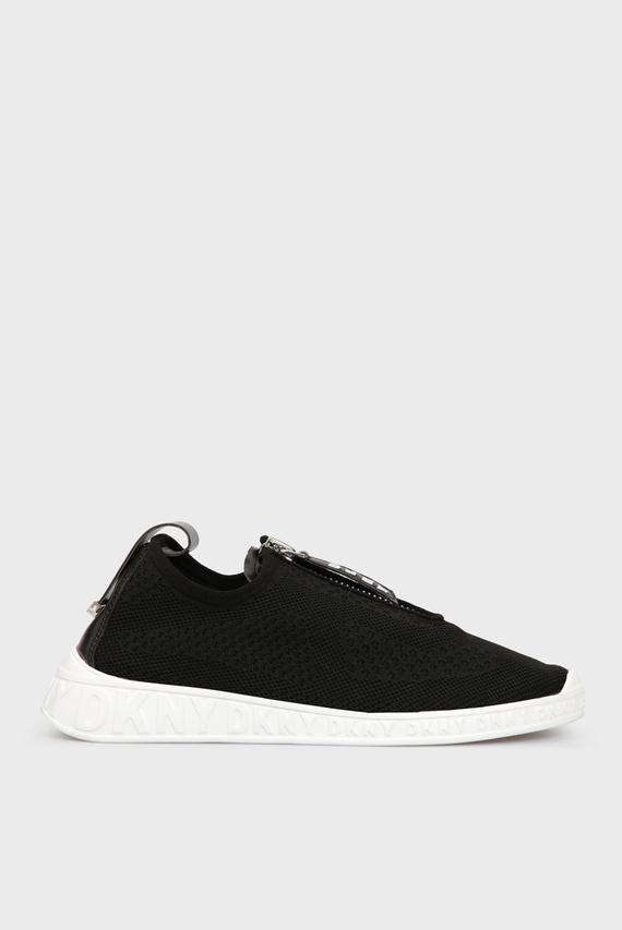 Женские черные кроссовки MELISSA