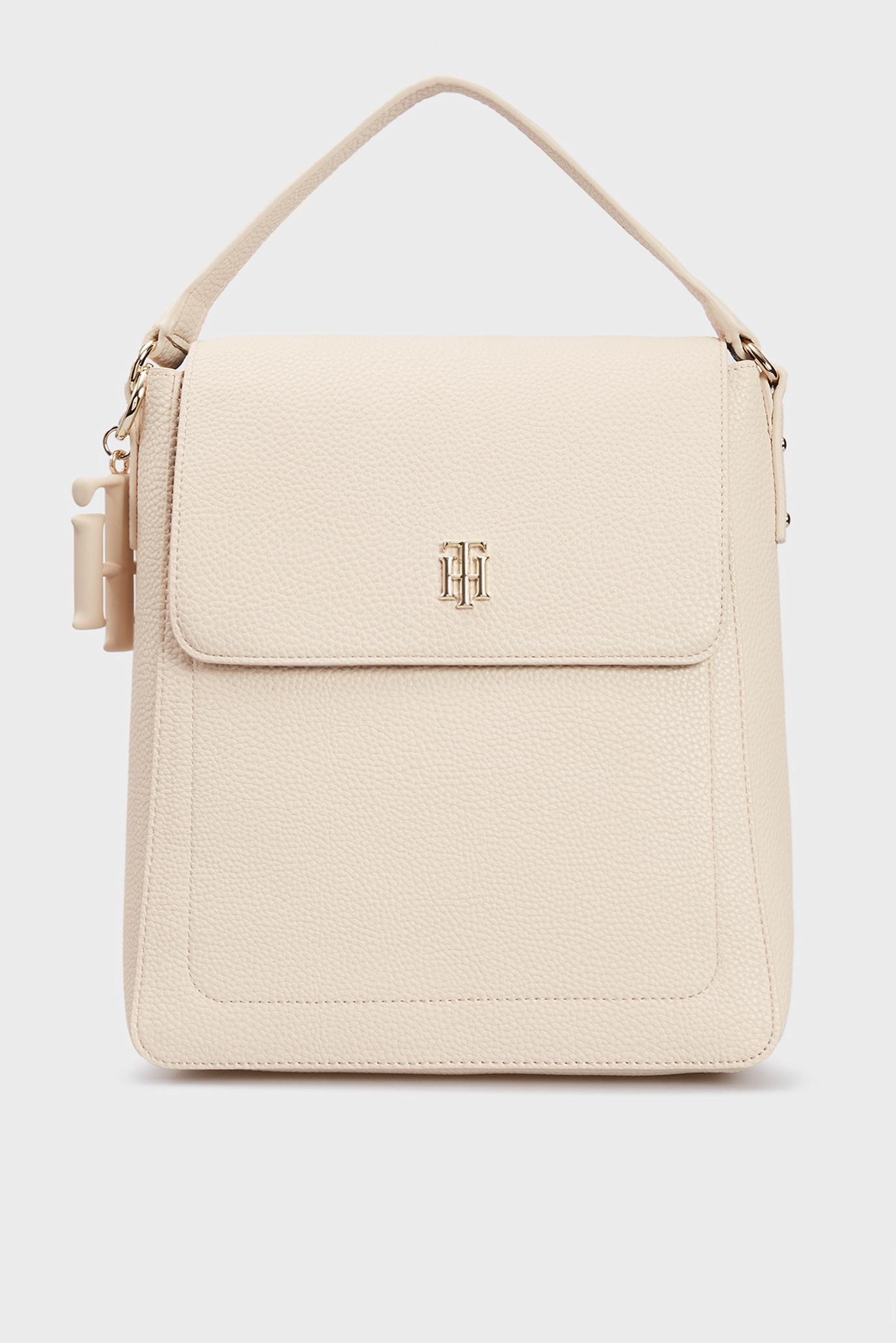 Женский бежевый рюкзак TH SOFT BACKPACK 1