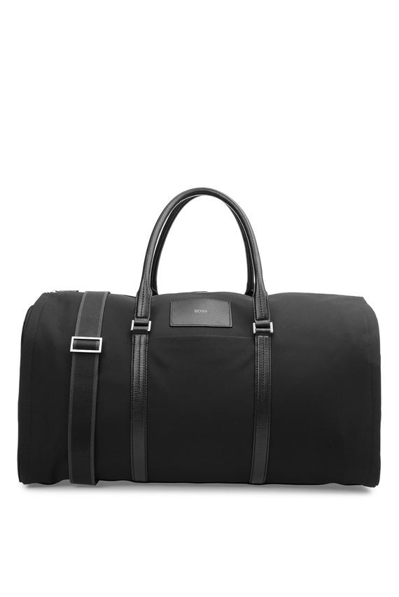 Мужская черная дорожная сумка