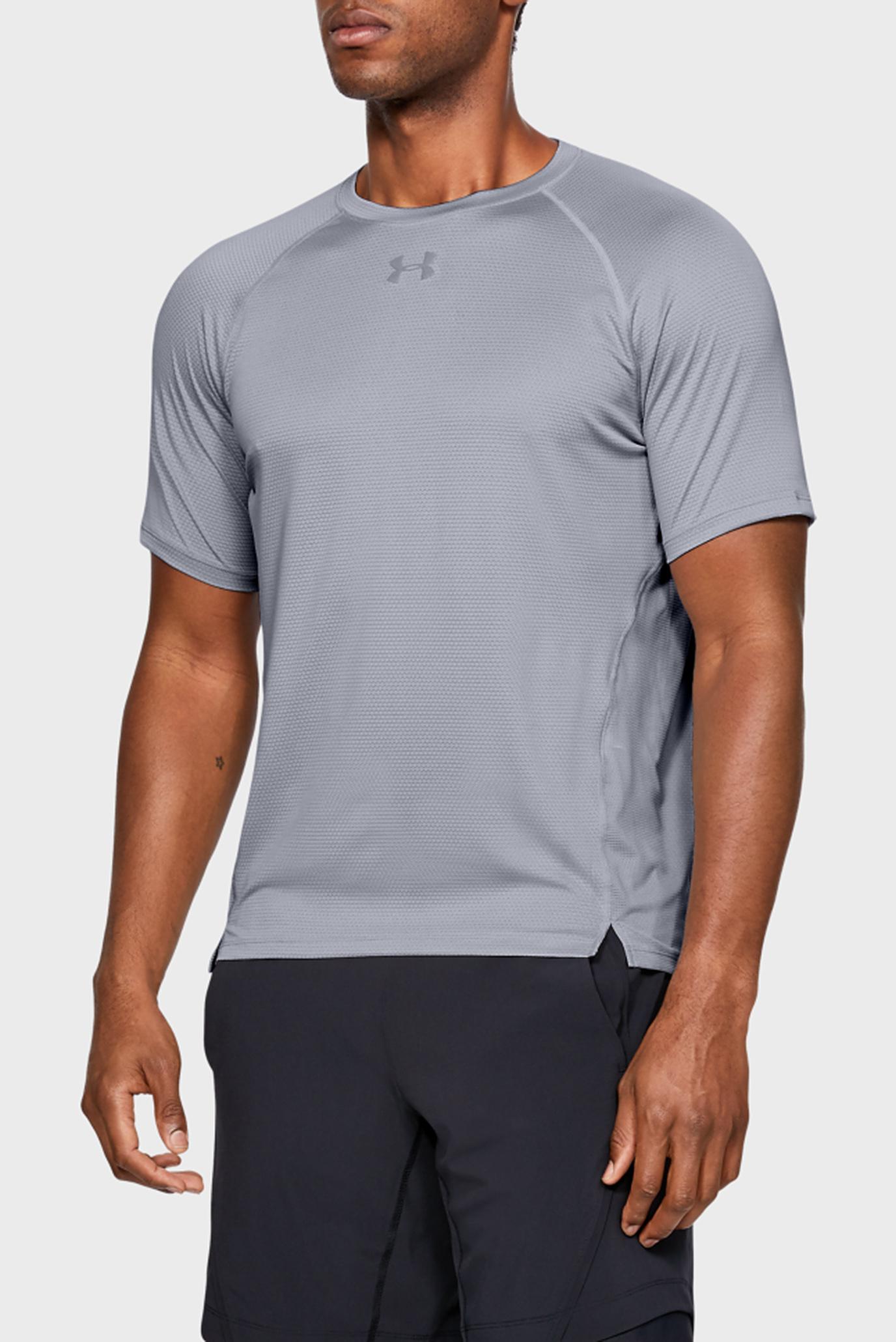 Чоловіча сіра футболка UA Qualifier 1
