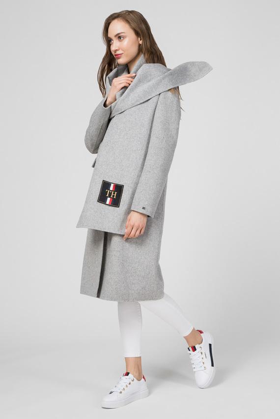 Женское серое пальто BIANCA DF