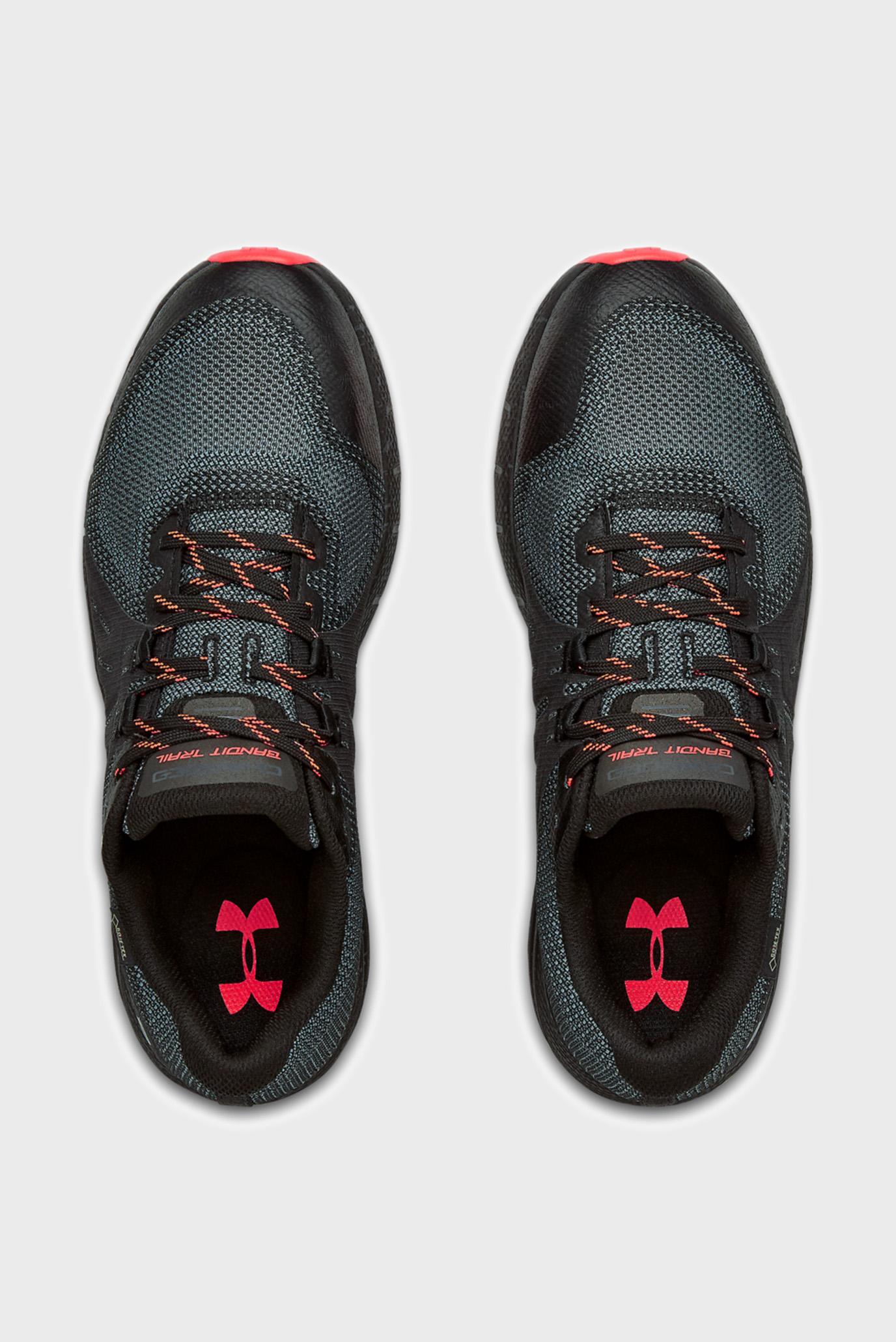 Мужские черные кроссовки UA Charged Bandit Trail GTX Under Armour