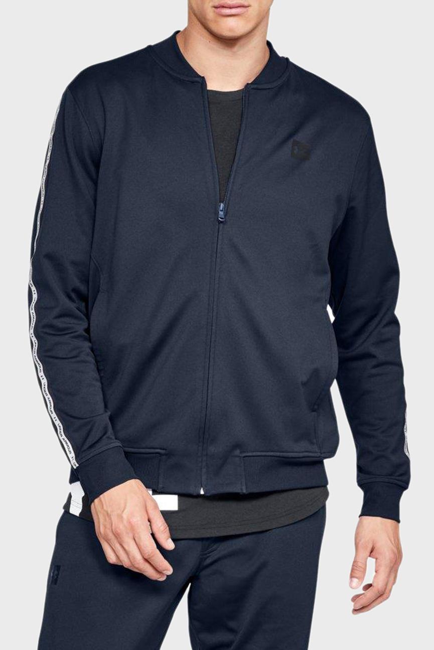 Мужская темно-синяя спортивная кофта SPORTSTYLE TRICOT TRACK JKT