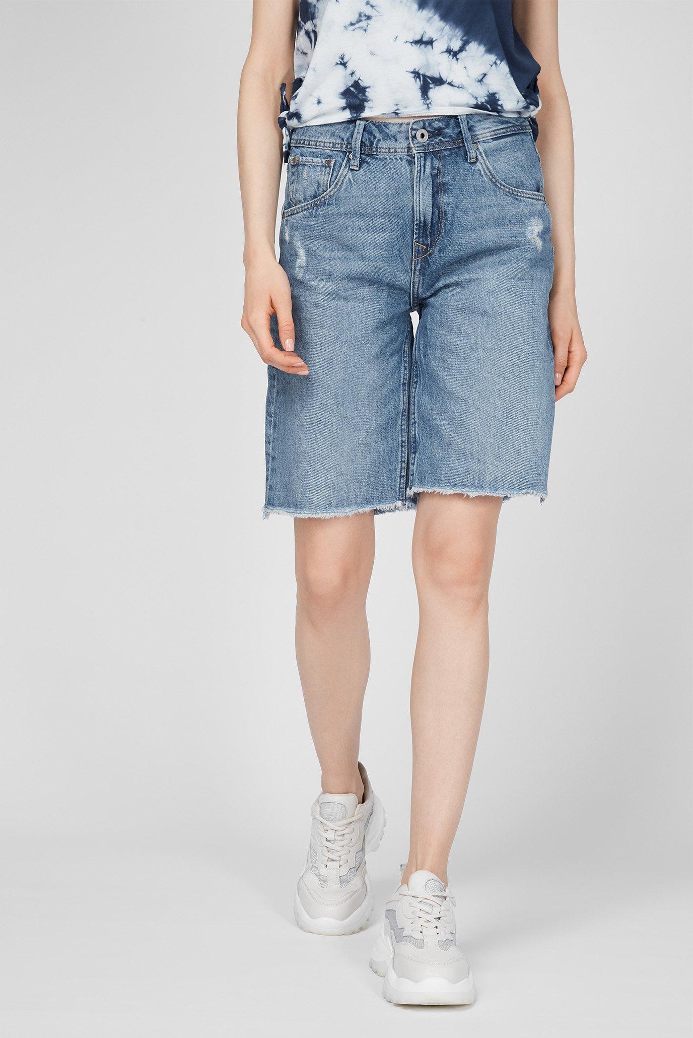 Женские синие джинсовые шорты VIOLET BERMUDA 1