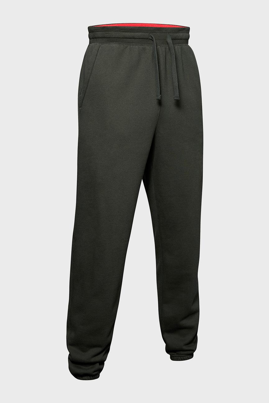 Мужские зеленые спортивные брюки UA PERFORMANCE ORIGINATORS FLEECE