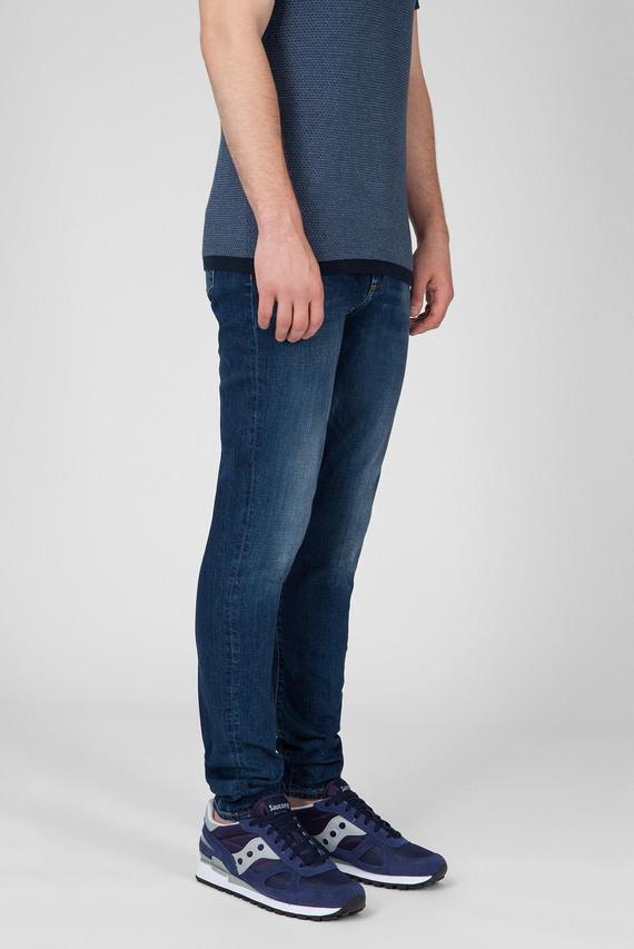 Мужские темно-синие джинсы 58 JP707 SOL
