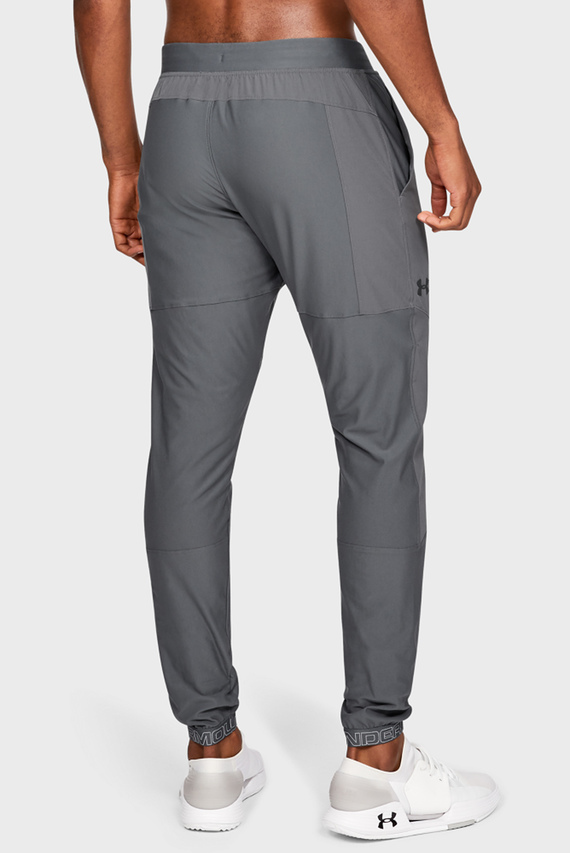 Мужские серые спортивные брюки UA Vanish Hybrid