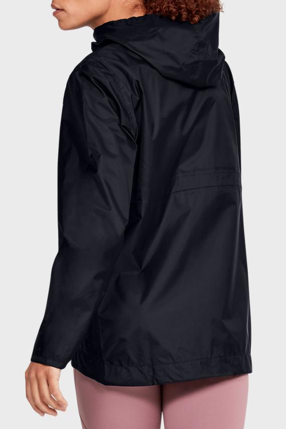 Женская черная ветровка UA CLOUDBURST SHELL