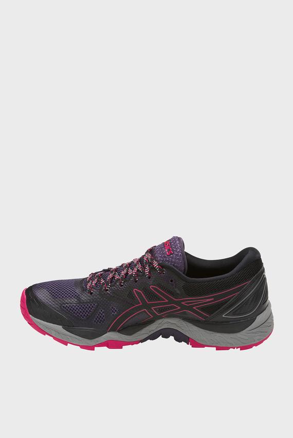 Женские черные кроссовки GEL-FUJITRABUCO 6 G-TX