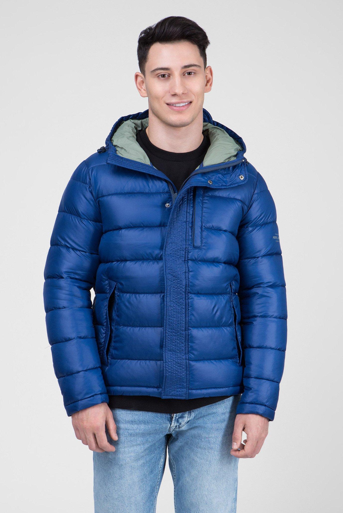 Купить Мужская синяя куртка WALBROOKS Pepe Jeans Pepe Jeans PM401928 – Киев, Украина. Цены в интернет магазине MD Fashion