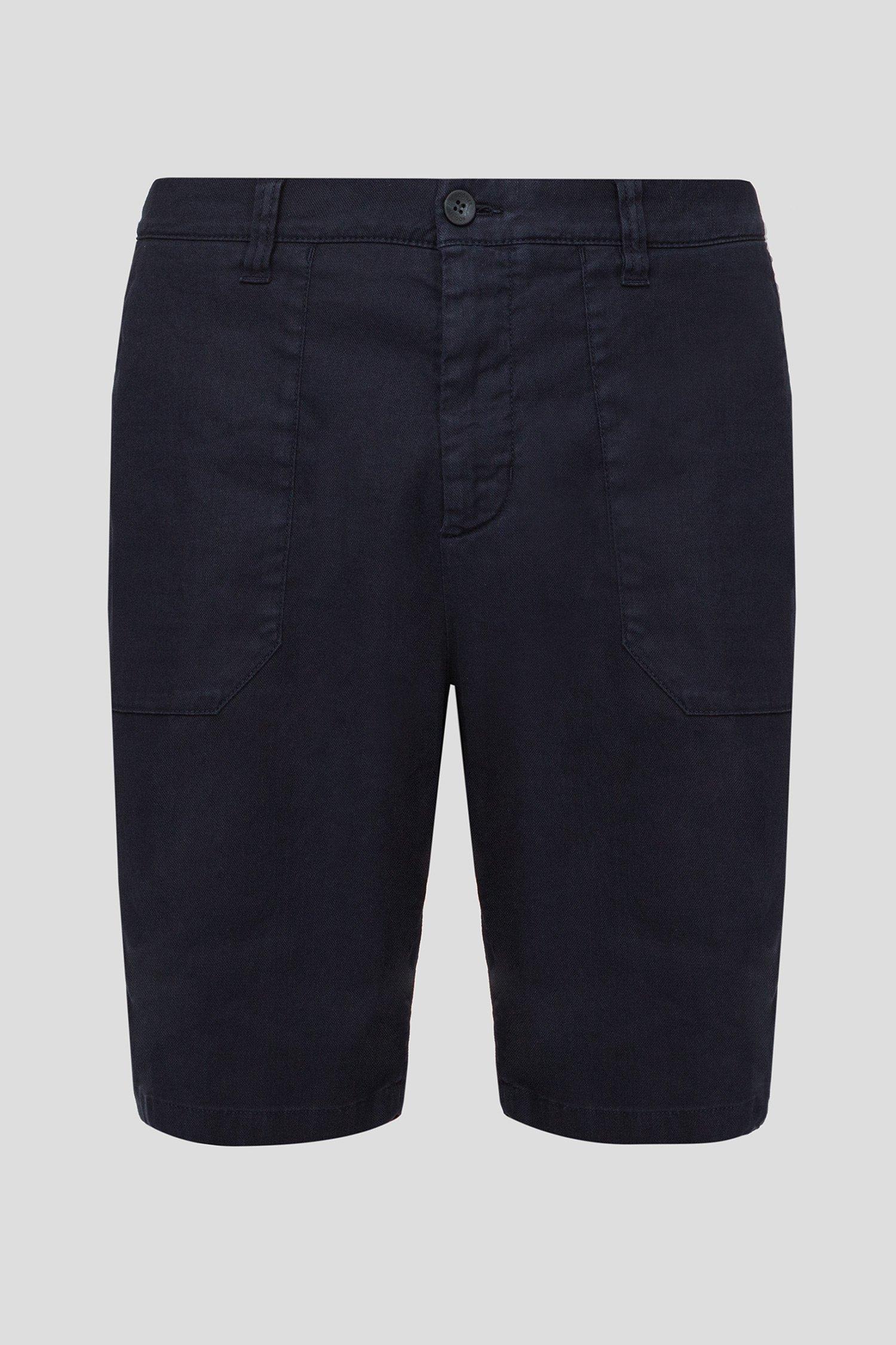 Мужские темно-синие шорты Bogner