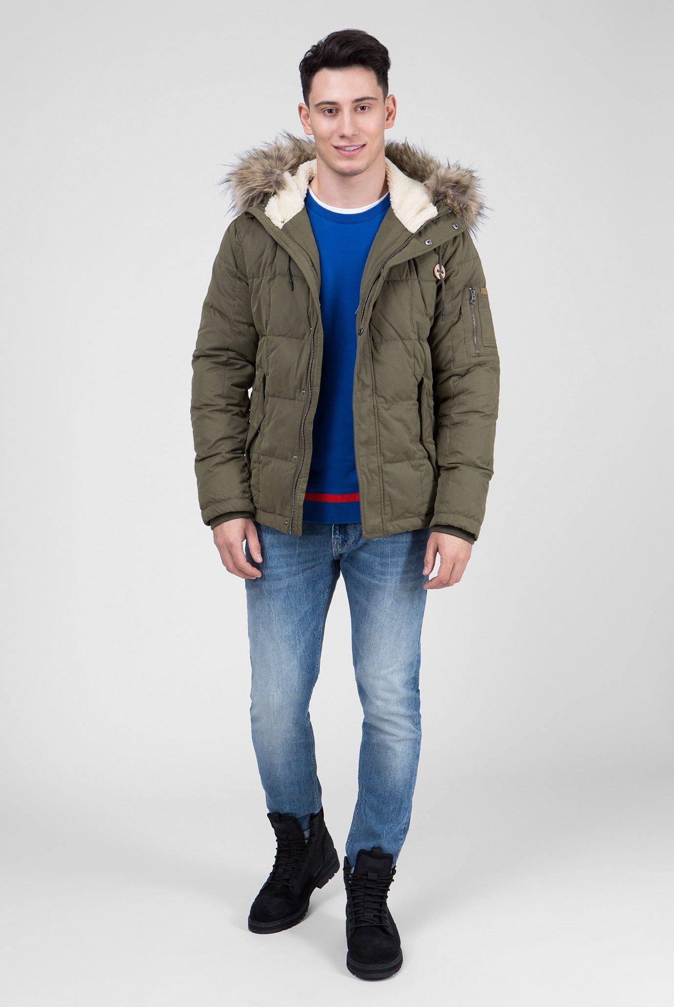 Купить Мужской зеленый пуховик DRURY Pepe Jeans Pepe Jeans PM401895 – Киев, Украина. Цены в интернет магазине MD Fashion