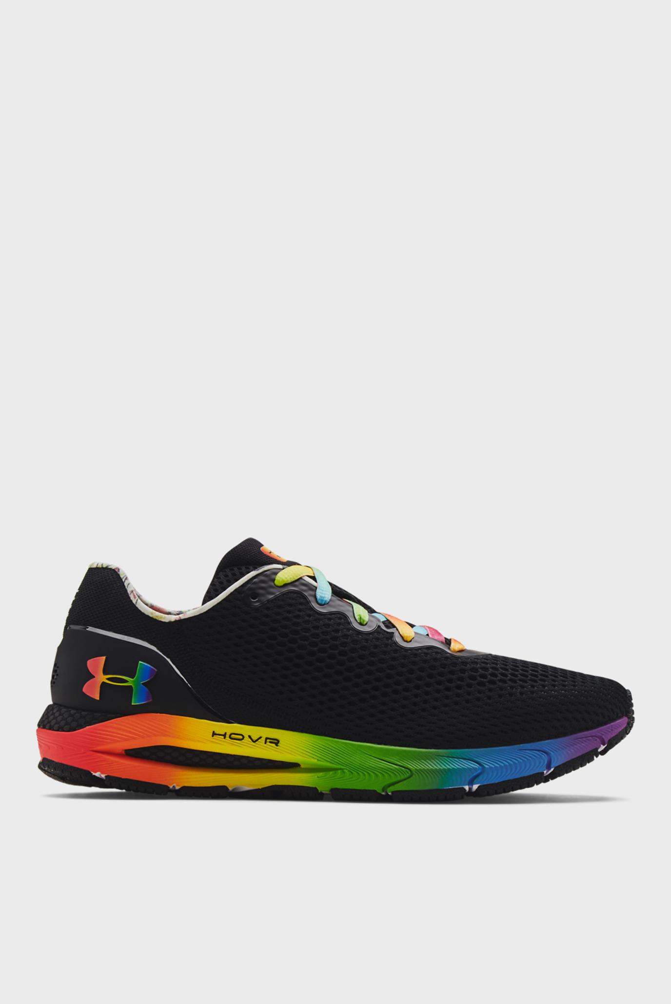 Женские черные кроссовки UA W HOVR Sonic 4 Pride 1