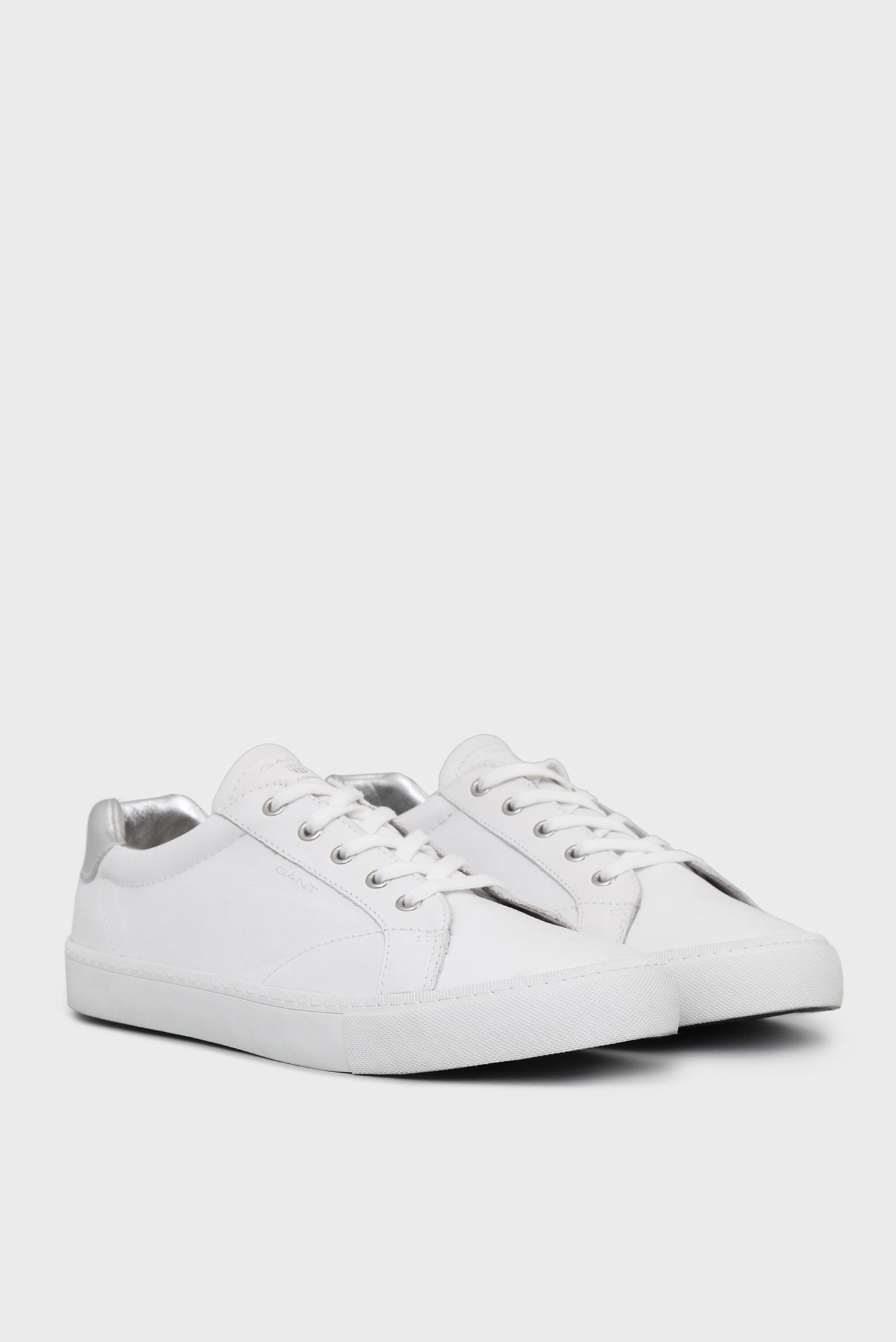 000a8ac735ca Купить Женские белые кожаные кеды Gant Gant 14531632 – Киев, Украина. Цены  в интернет магазине MD Fashion