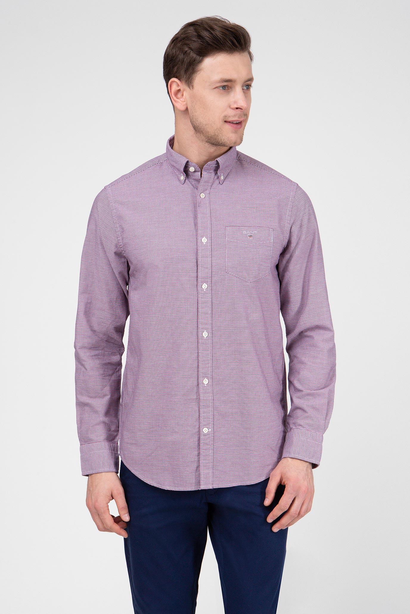 b8e2e87ba47 Купить Мужская рубашка с узором THE OXFORD Gant Gant 3057900 – Киев ...