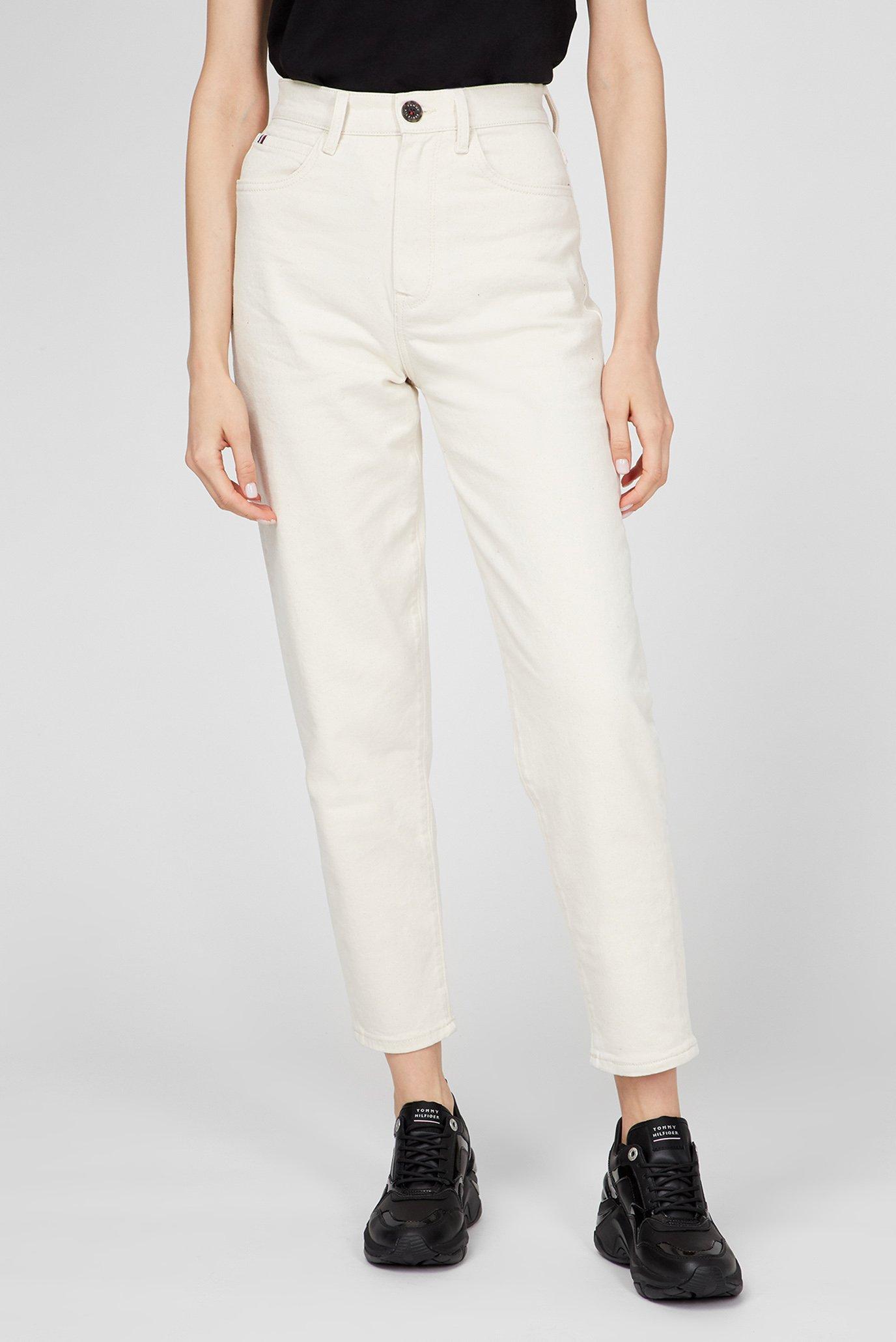 Женские белые джинсы RELAXED TAPERED 1